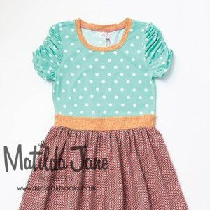 EUC Size 10 Malt Shop Dress By Matilda Jane MJC